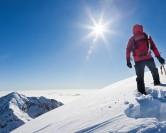 Sensation de liberté avec la pratique de l'alpinisme
