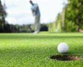 Je n'ai jamais fait de golf