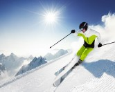 La saison du ski alpin, je m'éclate