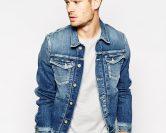 Veste en jean homme, pour parfaire un look